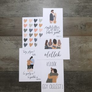 nem-valentinnapi képeslap