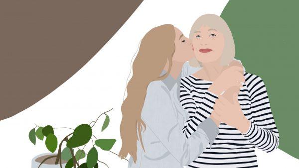 anyák napi illusztráció